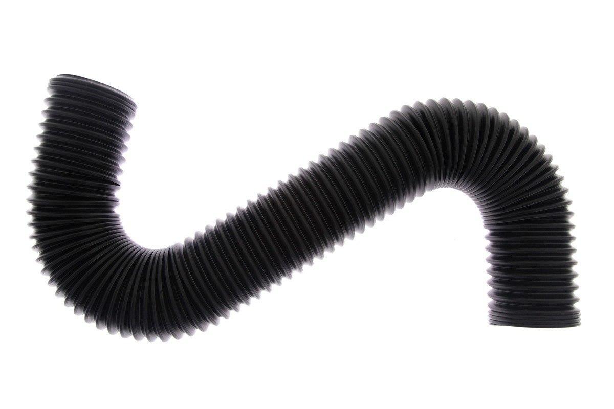 Przewód powietrza POWER+ 70mm BLACK - GRUBYGARAGE - Sklep Tuningowy